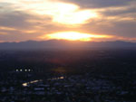 Sunset from top of Piestewa Peak. Photo by Andrea Aker