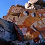 The Painted Rocks at Chloride