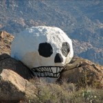 Giant Skull in Yavapai County