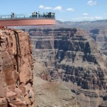A Scary Glimplse Down the Skywalk at the Grand Canyon