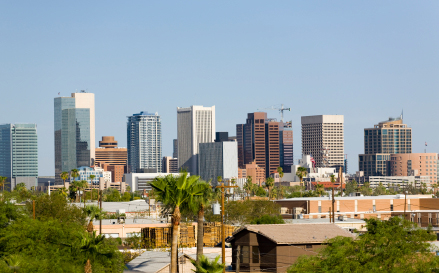 Image result for phoenix downtown skyline