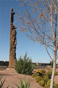 Totem in Winslow