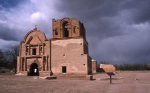 Tumacacori, the old mission near Tubac