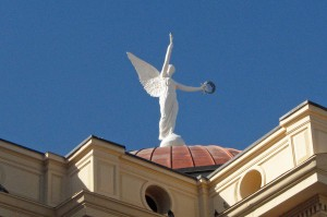 Winged Goddess on State Capitol in Phoenix