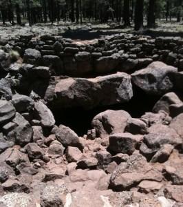 Arizona Lava River Cave Opening