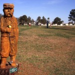 Tree Stump Sculptures Adorn Chandler Golf Course