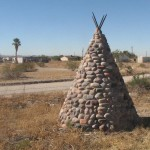 The Out-of-Place Teepees Near Sacaton