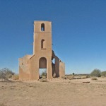 Bell Tower Still Stands at Old Mission on Gila River Indian Reservation