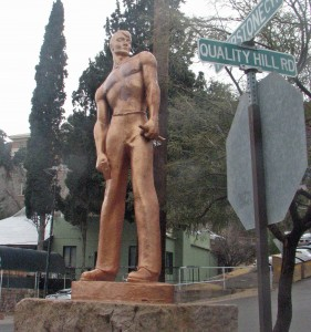 The Concrete Iron Man of Bisbee