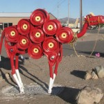 Meet Georgette, the Scrap Pile Camel of Quartzsite