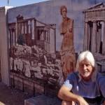 Apache Junction Artist Transforms Boring Backyard Concrete Walls