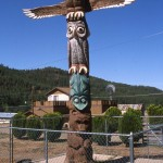 The Totem Monument in Strawberry