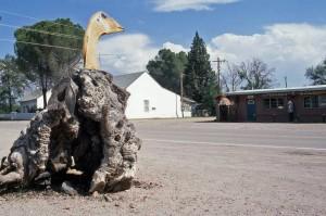 Lumpy Goose Sculpture