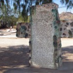 Unusual Grave Marker for an Ajo Teacher