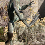 Sculpture Garden at Yavapai College Features a Fancy, 5-Foot Frog