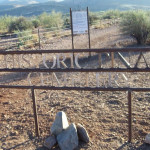 Historic Pinal Cemetery. Courtesy of the Tonto National Forest.