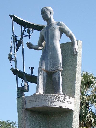 Encanto Park Statue