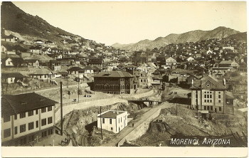 Postcard of Morenci, 1910.