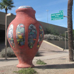 Phoenix Freeway Pots Cause a Stir