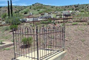 Grave site of Teresa Urrea in Clifton. Photo Credit: Sam Lowe