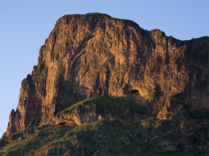 Picacho Peak at sunrise. Photo taken by Christopher Morrison.