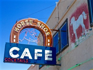 Horseshoe Cafe in Benson, Ariz. Photo courtesy of Marshall Shore.