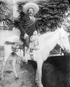 "Doroteo Arango Arámbula (June 5, 1878 – July 23, 1923), better known as Francisco or ""Pancho"" Villa, a Mexican Revolutionary general. Courtesy of the Library of Congress."