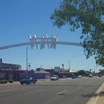 That Arch Over McDowell Road has a Name and Story