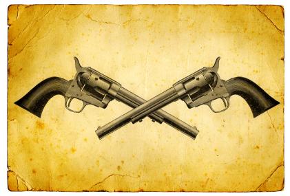 Wild West Gun Revolver