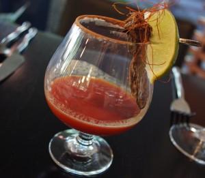 Mole Margarita from POSH Restaurant in Scottsdale