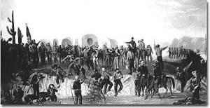 Mormon Battalion Painting