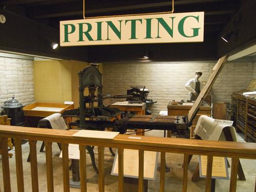 Arizona's First Printing Press in Tubac, Tubac Presidio Museum