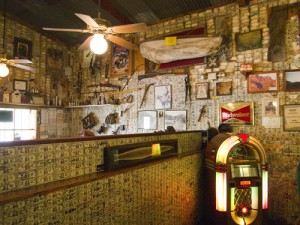 Inside the Superstition Saloon