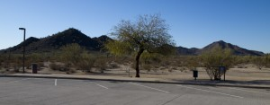 Sacaton Rest Area Parking Lot