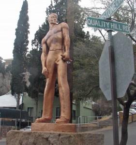 The Concrete Iron Man of Bisbee