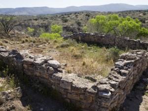 Ruins at Montzuma's Well