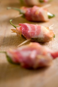 Stuffed Bacon-Wrapped Jalapenos