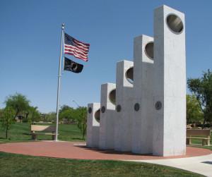 Veteran's Memorial at Community Park in Anthem. Photo Credit: Sam Lowe