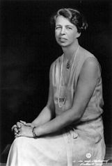 Eleanor Roosevelt, 1932. Courtesy of United States Library of Congress.