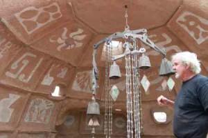 Bells on display at Cosanti. Courtesy of Scottsdale Leadership.