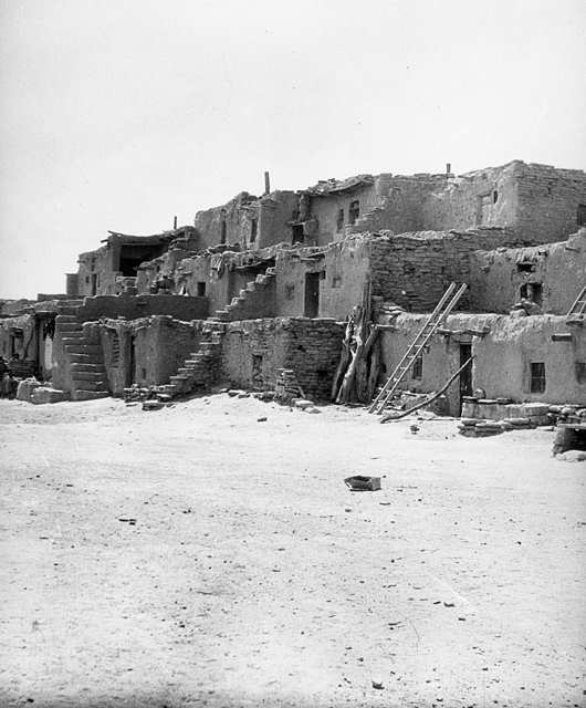 Oraibi Pueblo, circa 1899, is listed on the National Registrar of Historic Places.