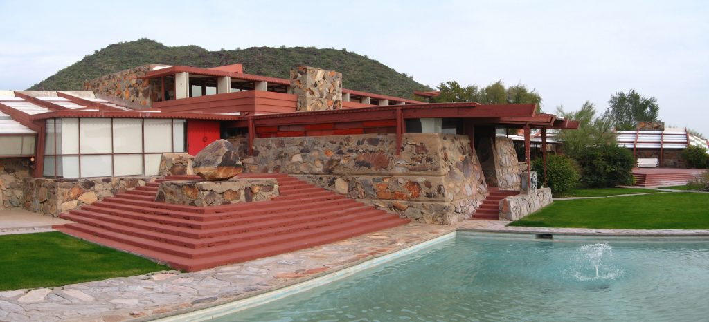 Scottsdale Home to Frank Lloyd Wright's Desert-Inspired Haven